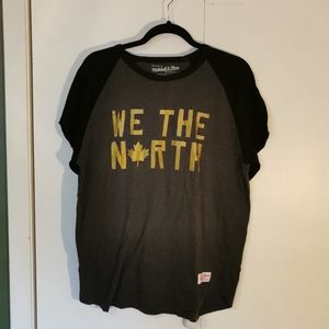 """👔 Mitchell & Ness Top, """"We The North"""" size L"""